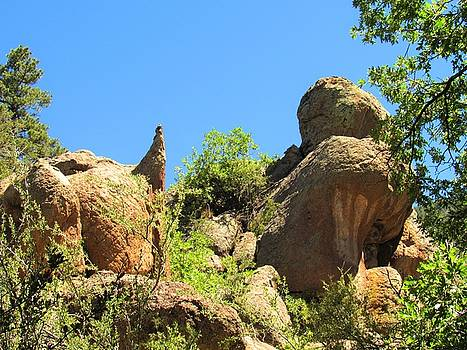 Elden Mountain Monoliths by Joshua Bales