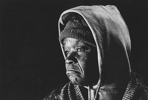 Elderly woman by Jim Wright