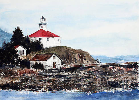 Eldred Rock Lighthouse by Monte Toon