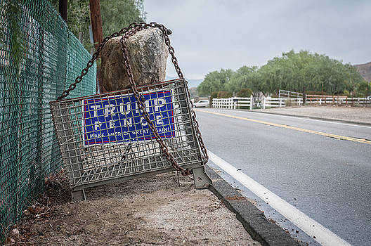 Election Sign by Ralph Vazquez