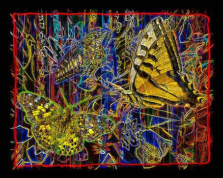 Electric Butterflies by Chuck Brittenham