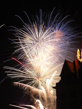 Electric City Fireworks XX by Daniel Henning