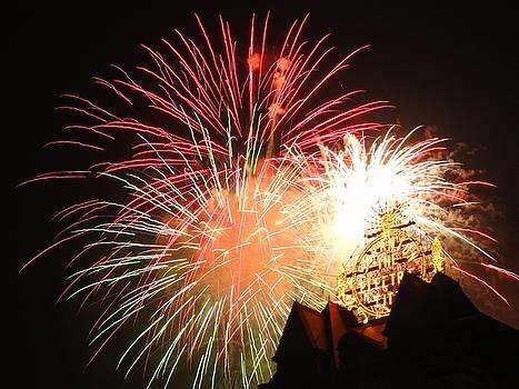 Electric City Fireworks XXIII by Daniel Henning