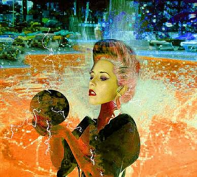 Electric cyborg  by Matthew Lacey