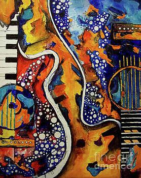 Electric Funk II by Angela Green