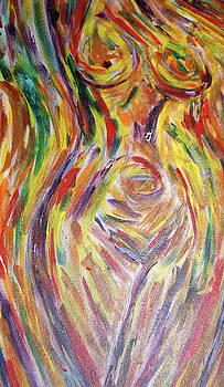 Electric Nude by Carolyn Donnell