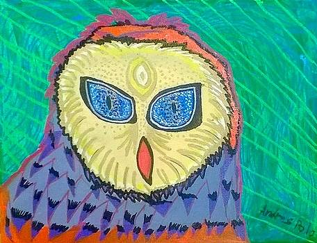 Artists With Autism Inc - Electric Owl