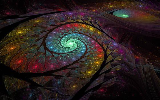 Electric Spirals by GJ Blackman