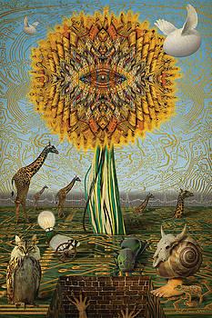 Electric Sunflower by Bill Jonas