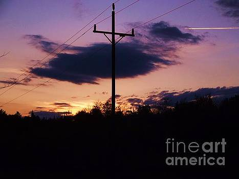 Electric Sunset by Jessica Wood