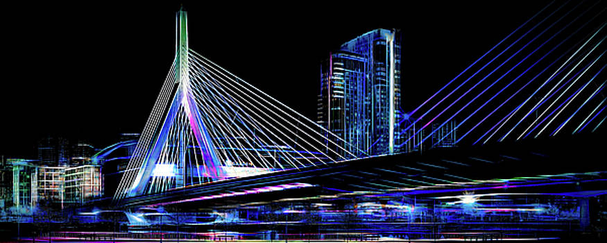 Electric Zakim by Thomas Logan