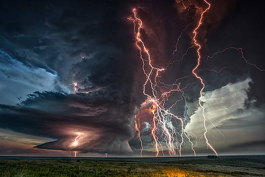 Electrical Storm by James Menzies