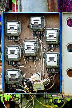 Electricity meters by Mirko Dabic