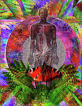 Electromagnetic Spectrum of Man by Joseph Mosley