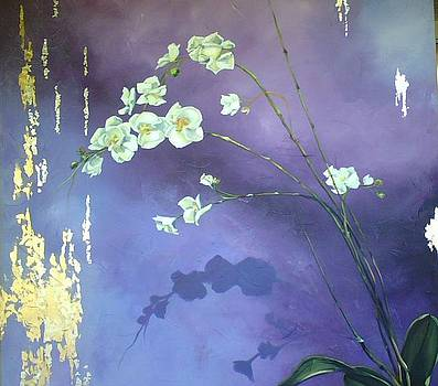 Elegance of the Orchid by Heather Roddy