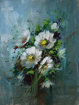 Elegant Blossoms by David Jansen