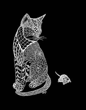 Elegant Cat by Linda Clary