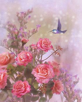 Elegant Roses-2 by Nina Bradica