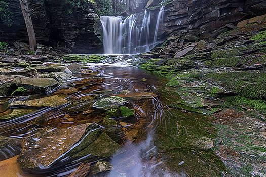 Elekala Falls by Michael Donahue