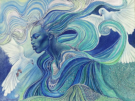 Element of the Air by Bernadett Bagyinka