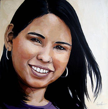 ELENA - portrait by Linda Apple