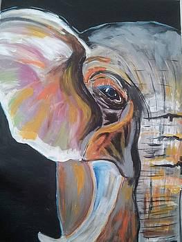 Elephant 1 by Cindy Large