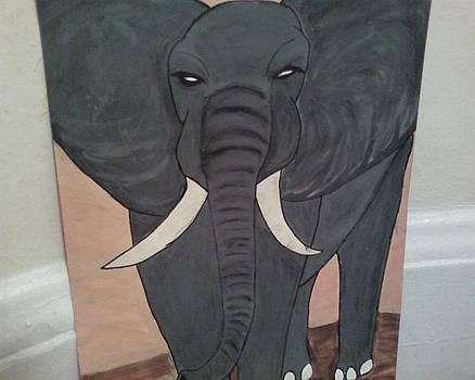 Elephant 1 by Dorine Coello