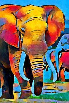 Elephant 3 by Chris Butler