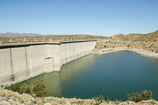 Allen Sheffield - Elephant Butte Dam - Lake Side