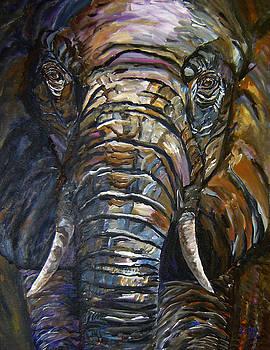 Mary Jo Zorad - Elephant Faces of Nature series