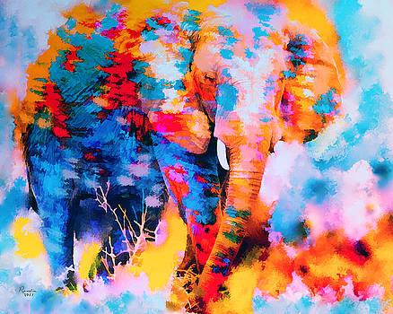 Rosalina Atanasova - Elephant Impression
