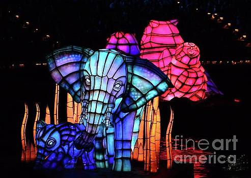 Elephant in Blue by Cindy Manero