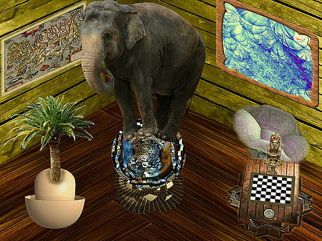 Elephant in the room by Bad Monkey