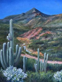Elephant Mountain from Mariposa Hill by Michael McGrath