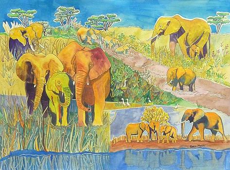 Elephanti by Karen Merry
