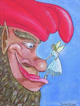 Elf And Fairy Friend by Gordon Wendling