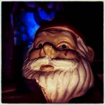 #elf #gnome #iphoneography by Judy Green