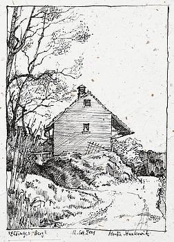 Martin Stankewitz - Elfinger Berg,old storage building