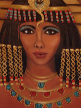Elizabeth of the Nile close up by Linda Mungerson