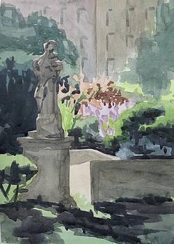 Elizabeth Street Garden IV by Bethany Lee