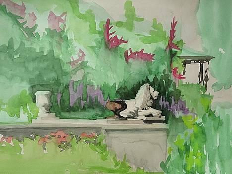 Elizabeth Street Gardens II by Bethany Lee