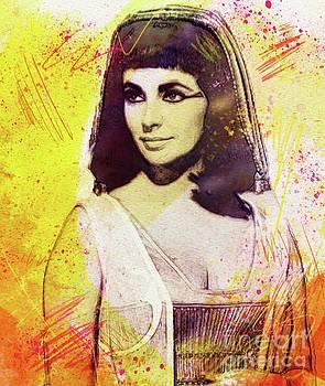 John Springfield - Elizabeth Taylor as Cleopatra