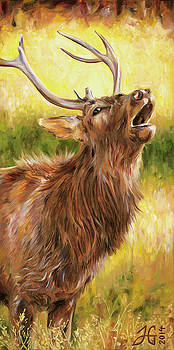 Elk Bellow by Heather Griffin