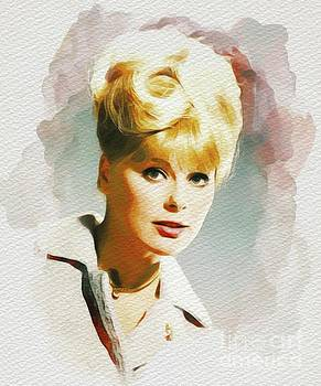 John Springfield - Elke Sommer, carry On Films Cast