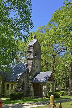 Elkhart Cemetery Church 2 by Sue Houston