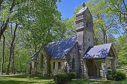 Elkhart Cemetery Church by Sue Houston