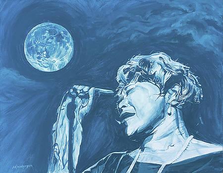 Ella Singing 'Blue Moon' by Michael Morgan