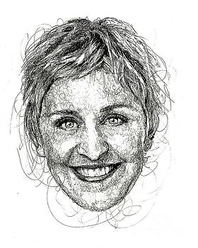 Ellen DeGeneres by Michael Volpicelli