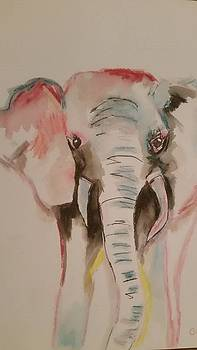 Ellie The Elephant by Cindy Large