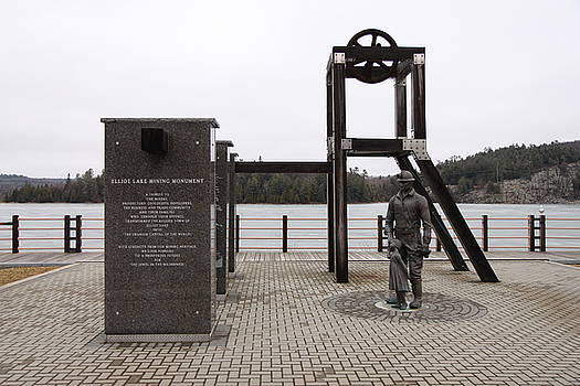 Elliot Lake Mining Monument by Richard Mitchell